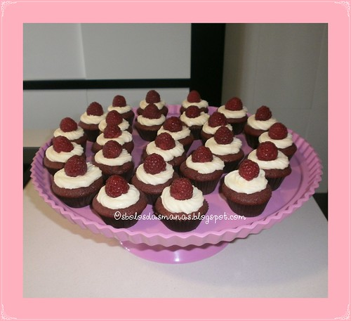 Mini cupcakes Red Velvet by Osbolosdasmanas