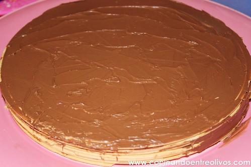 Tarta de obleas y nutella www.cocinandoentreolivos (5)