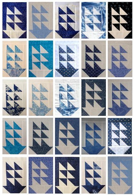 Tall Ships Virtual Quilt