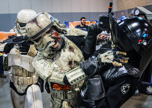 Zombie Trooper Attack! by kenfagerdotcom
