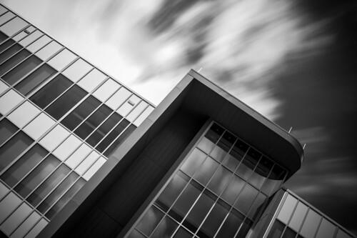 longexposure school building monochrome architecture austin university texas tx photowalk stedwardsuniversity