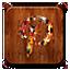 Pinterest Logo legno