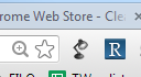 Icon for the Clearly Chrome extension