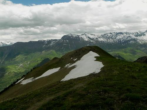 Névé à 2200m au Mont Charvin de Maurienne
