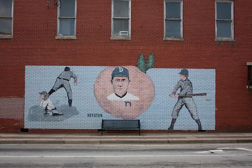 Ty Cobb Mural in Royston, GA