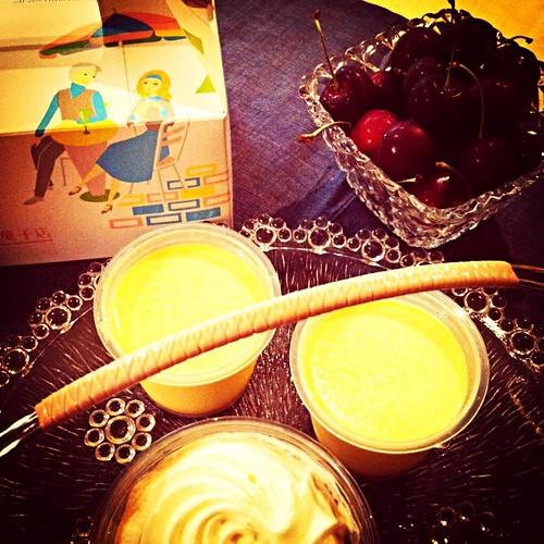 近江屋洋菓子店の…美味し過ぎるプリンとコーヒーゼリー