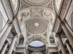 Ceiling of the Pantheon, Paris