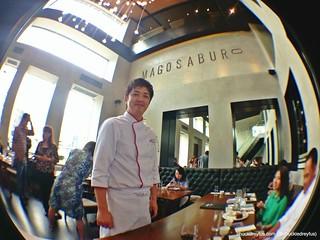Executive Chef Takashi Motomatsu