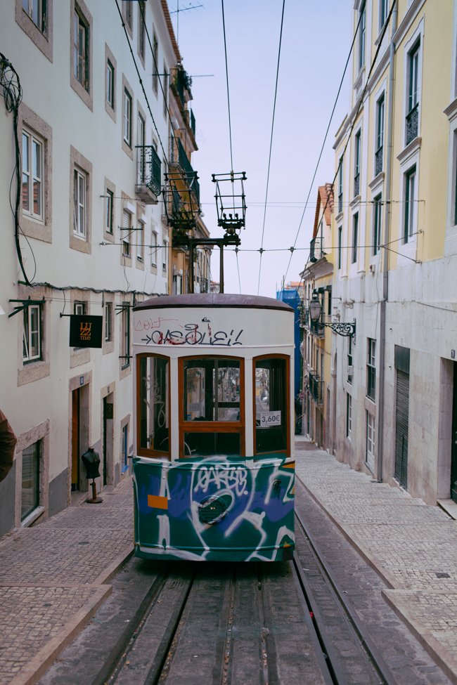 Lisbon tram streetcar