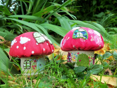 Toadstool Pin Cushions