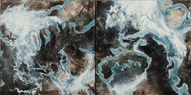 storm series 4.1 and 4.2 (diptych)