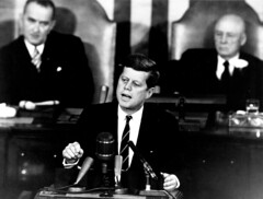 President Kennedy Addresses Congress May 25, 1961