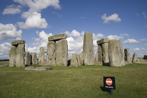 No entry to the stones