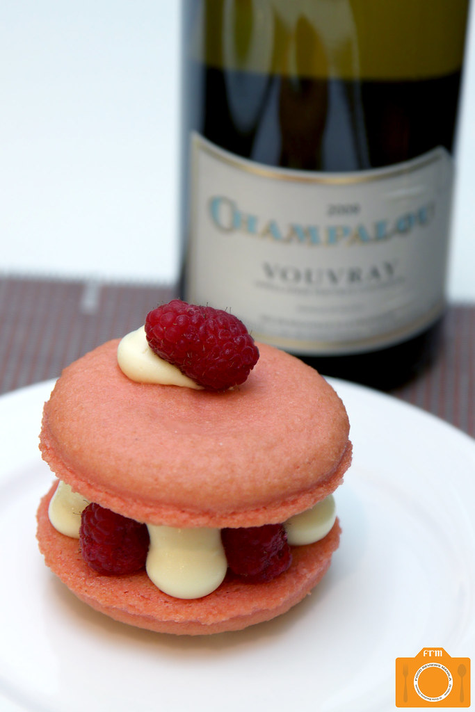 The Cake Club Vouvray Vin Sec and Ispahan