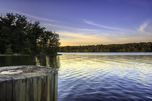 sunset twilight dock day cloudy dusk freshwater burkelake fairfaxcounty