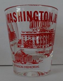 Washington D.C. shotglass