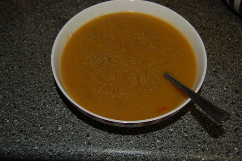 vegetable soup Aug 13