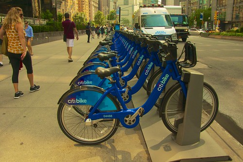 New Yorkers like CitiBikes so much that they're popping up everywhere …