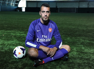 New Arsenal signing Emiliano Viviano