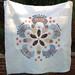 Liberty Flower Quilt by pennydogaccessories