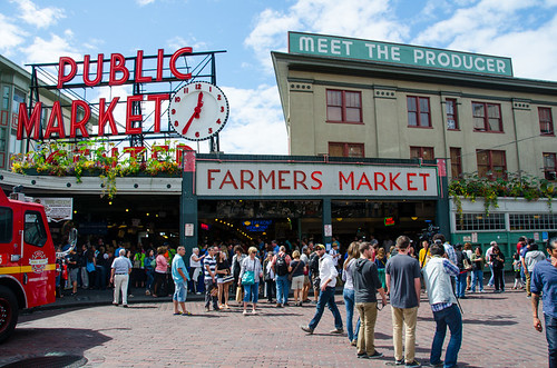 Places to eat in Seattle - Pike Place Market