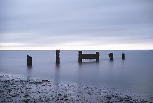 Subtle Silence  - Calm Nature Scene - Broughty Ferry - Scottish Coast