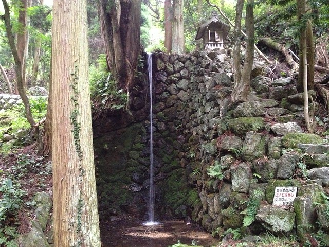 大野町 名勝 金尾滝