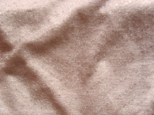 Metallic knit fabric