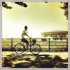 #cycling #nissanstadium #shinyokohama