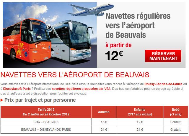 Como ir do Aeroporto Paris Beauvais ao Charles de Gaulle e a Disneyland Paris