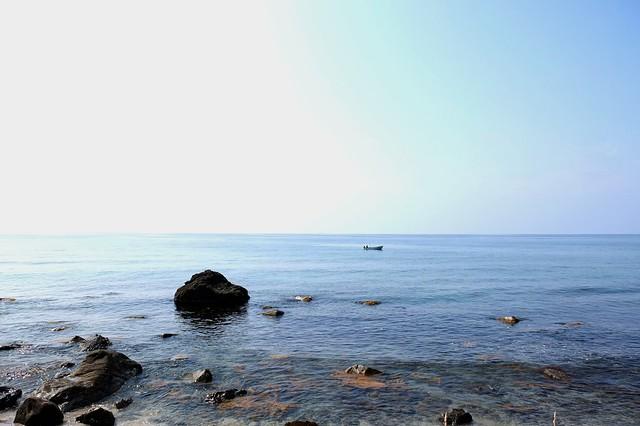 珠洲市の海岸