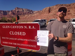 Glen Canyon NRA: Closed Due to Government Shutdown