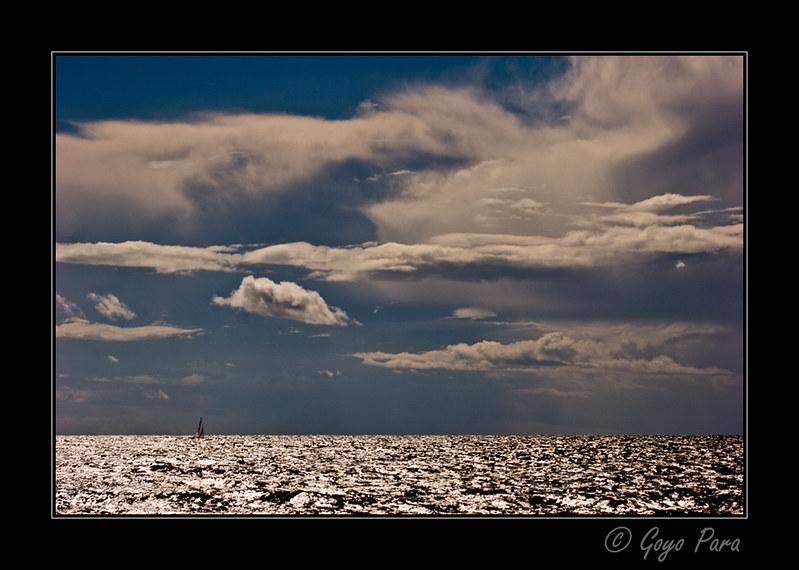 Cielo y mar en Torö