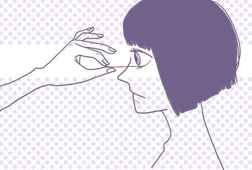 动漫 简笔画 卡通 漫画 手绘 头像 线稿 500_421