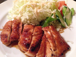 Chicken teriyaki 照り焼きチキン定食 ¥680- | by Takashi H