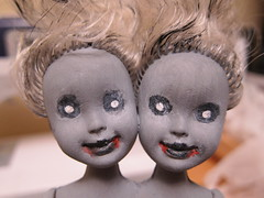 Zombie Siamese Twin Dolls