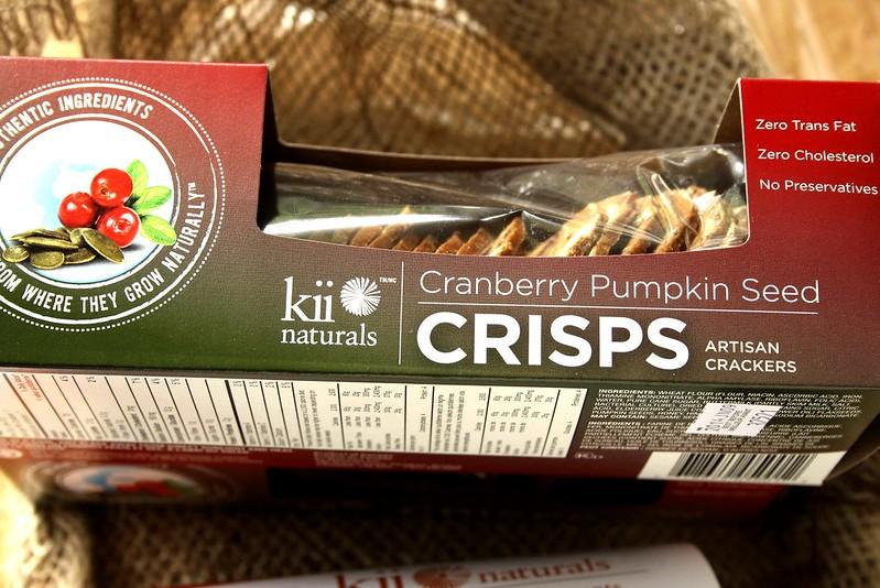 Kii Naturals Cranberry Pumpkin Seed Crisps