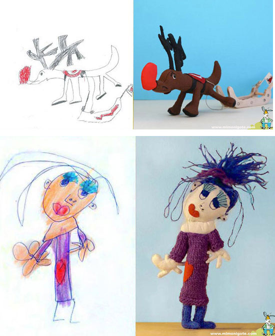 mi monigote, muñecos dibujos niños