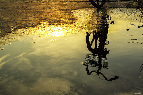 life lighting morning light reflection water bicycle silhouette clouds sunrise dawn vietnam cycle bestcapturesaoi elitegalleryaoi