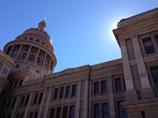Texas State Capitol: Backlit