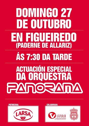 Paderne de Allariz - Actuación Desconecting de Panorama en Figueiredo - cartel 2