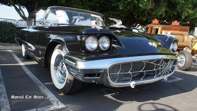 1959 Ford Custom Thunderbird Convertible Macabre Mobile