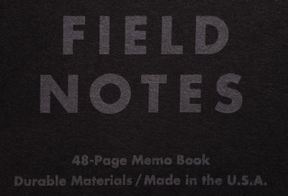 FIELD NOTES Pitch Black Edition