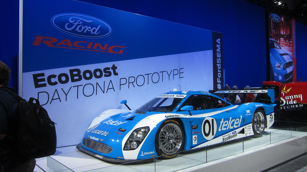 SEMA Show 2013 Day 1 Ford Racing EcoBoost Daytona Prototype
