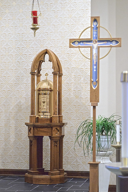 Saint John the Evangelist Roman Catholic Church, in Paducah, Kentucky, USA - tabernacle
