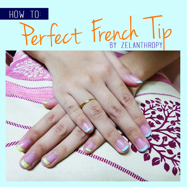 how to do the perfect french tip by Zelanthropy