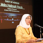 PSI affiliates in Singapore held an event on 23rd November on Ending Violence against Women and invited the Speaker of the Parliament as the guest speaker, Mdm. Halimah Yacob</p>
