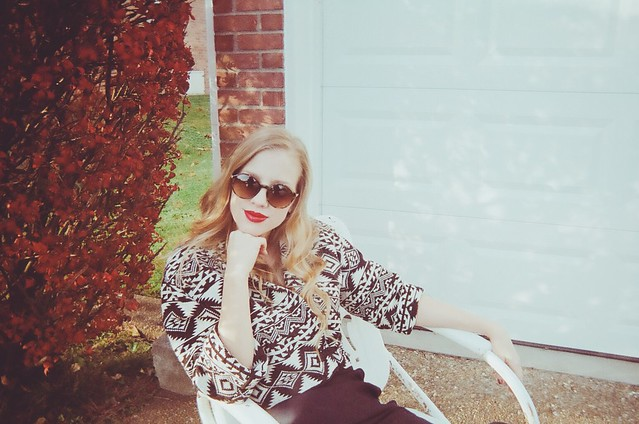 Closet Case Vintage Winter 2013 Lookbook Starring Heidi Feek