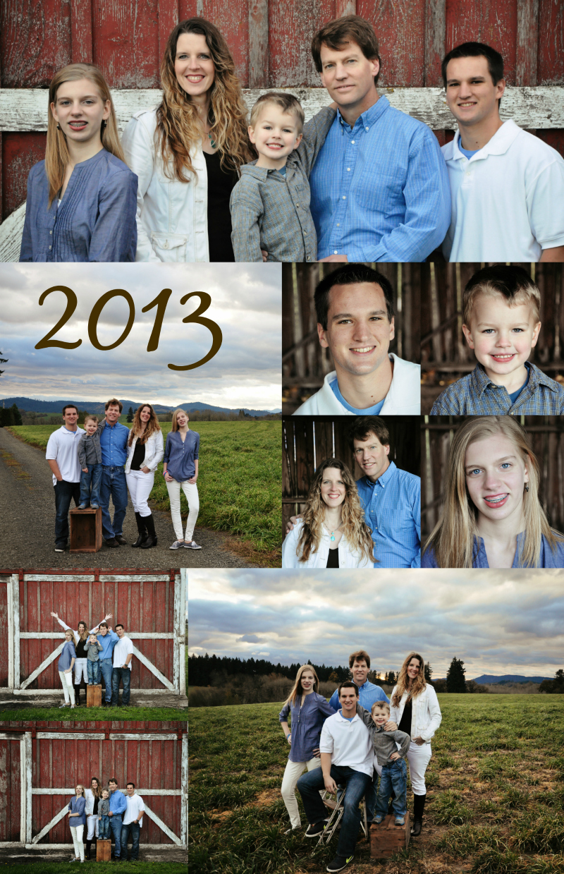 Howe Family Collage 2013 rs