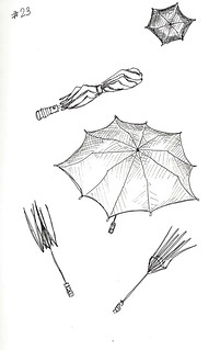 Drawing23-Umbrellas